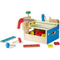 Melissa & Doug Hammer and Saw Tool Bench | Pretend Play | Play Set | 3+ | Boy or Girl
