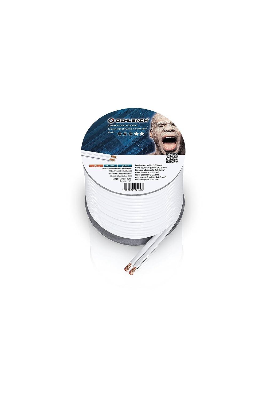 Oehlbach Speaker Wire SP 15/C/âble de Haut-Parleur