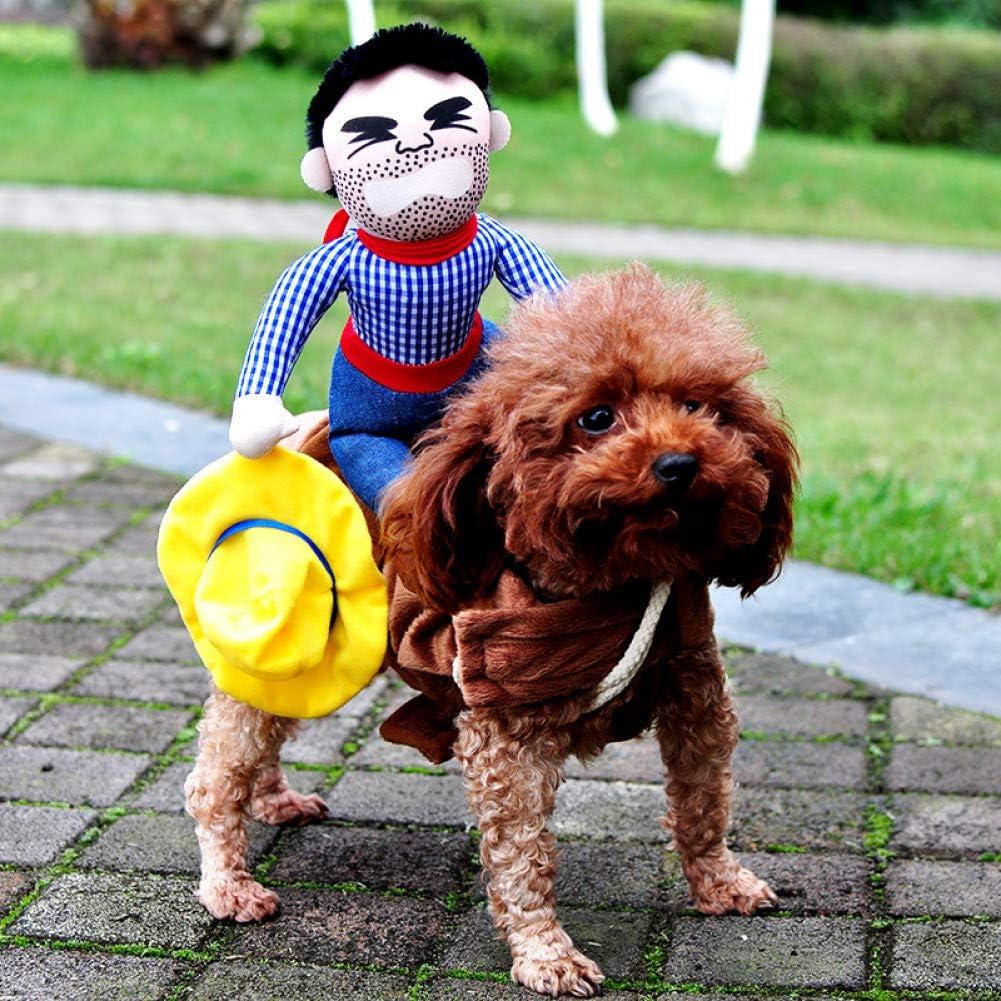 ZHAOZX Disfraces de Halloween para Perros, Ropa para Mascotas, Abrigo para Perros, chistoso Bulldog francés Chihuahua Pug Ropa