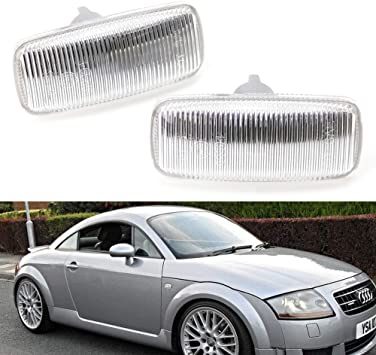 Side Turn Light Cover Clear Lens 4B0949127 FOR Audi A4 B6 B7 A6 C5 NEW