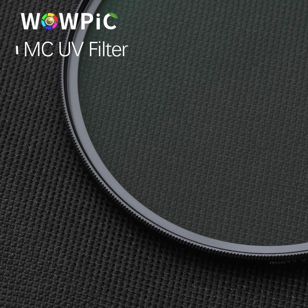 Uv Filter for Camera Lens,Premium UV Filter 58mm ∙ Schott Glass 16Layers Multi Coated ∙ Super Slim Aluminium Ultraviolet Lens ∙ Protective Filter