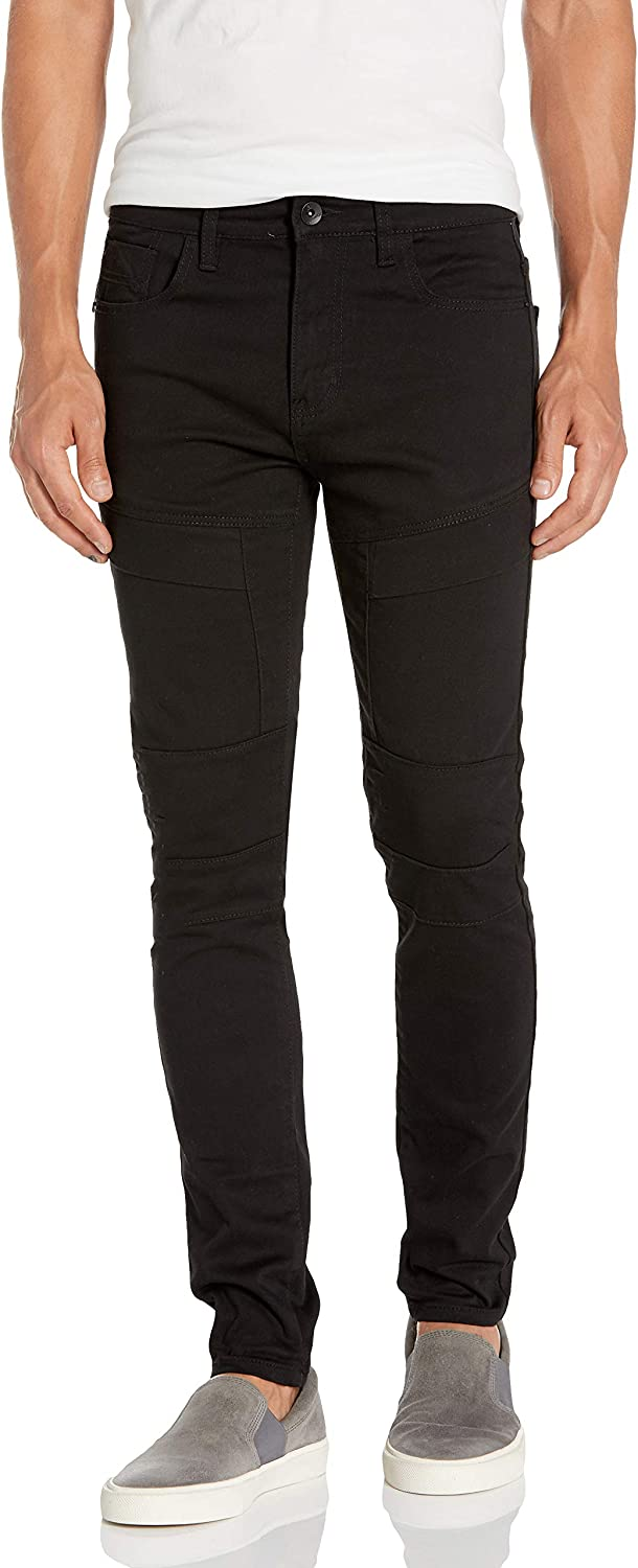 Southpole Men's Skinny Twill Pants: Clothing
