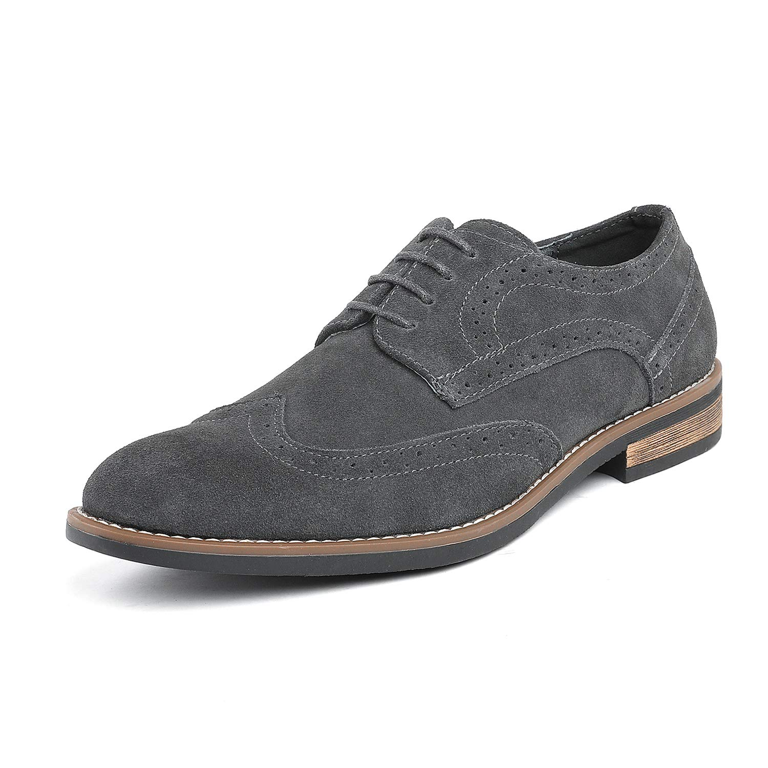 dcd59b7810192a See all customer reviews · Bruno Marc Men s Urban Suede Leather Lace Up  Oxfords Shoes product image