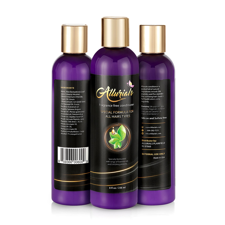 Best Allurials Fragrance Free Hair Conditioner Natural Hair