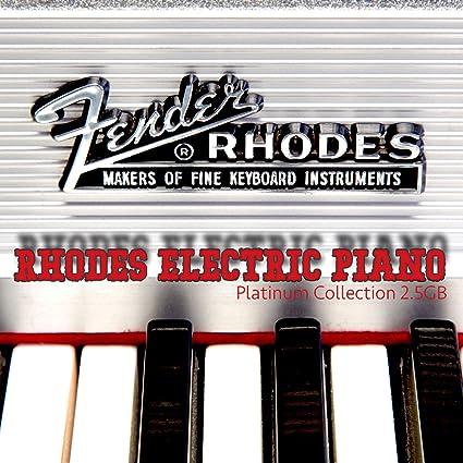 Amazon com: Fender Rhodes Electric Piano - Large unique 24bit WAVE