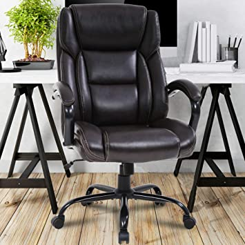Amazon Com Big Tall Executive Office Chair Heavy Duty 500lbs