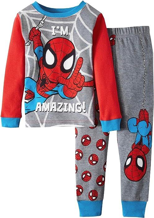 1dca53939 Amazon.com  AME Marvel Spiderman I m Amazing Toddler Boy Cotton ...