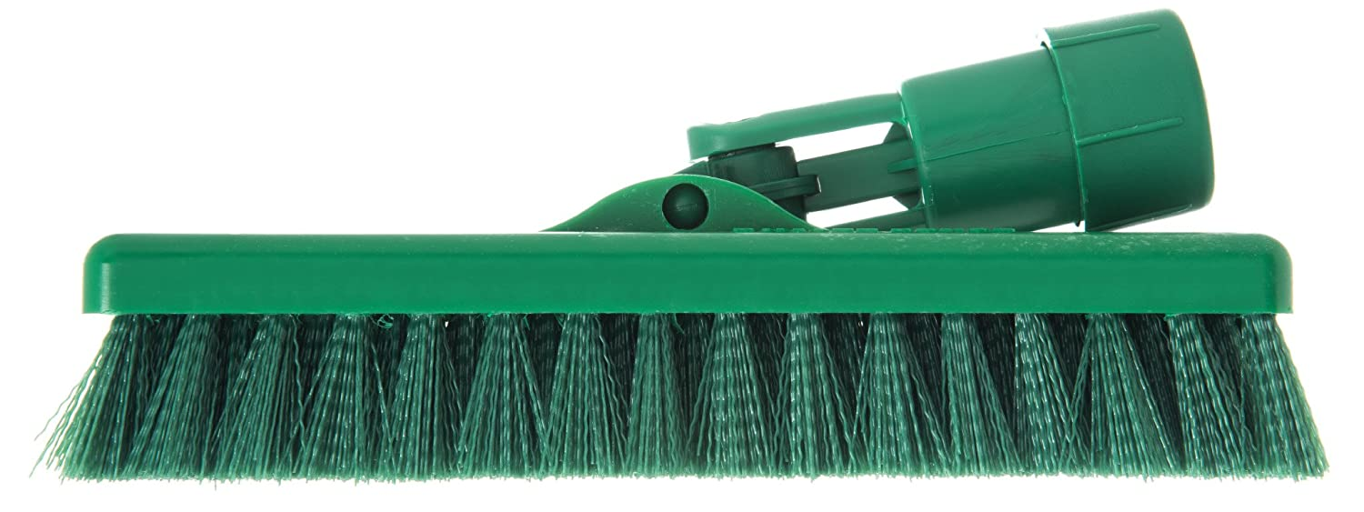 Green Pack of 12 Carlisle 363883109 Swivel Scrub Brush 8 8