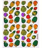 Autocollants fruits stickers fruits autocollants enfants autocollants paques stickers planche 2 feuilles