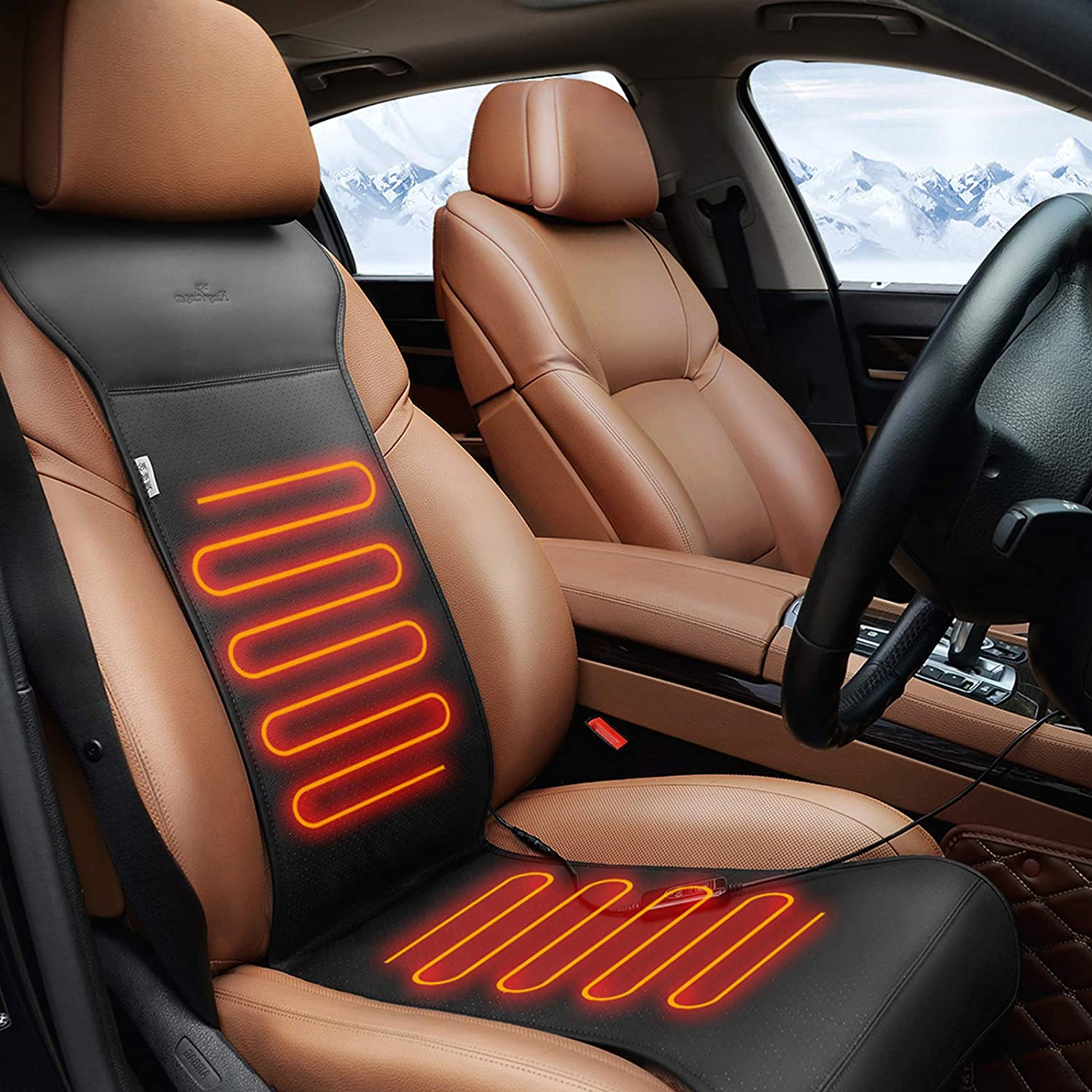 Kingleting Warmer Seat Cushion with Intelligent Temperature Controller