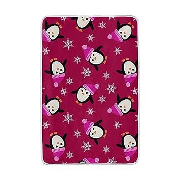 Amazon.com: colourlife pingüinos con rosa Sombrero Queen ...