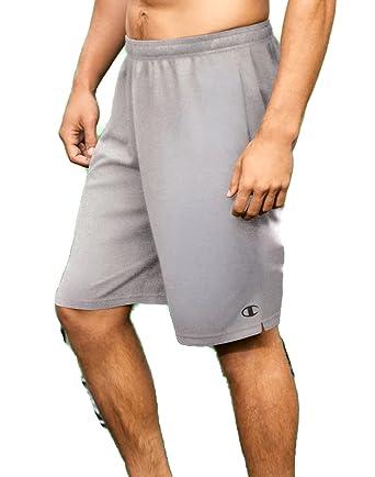 28e39e42 Champion Mens Core Training Shorts 80296_Oxford Grey at Amazon Men's ...