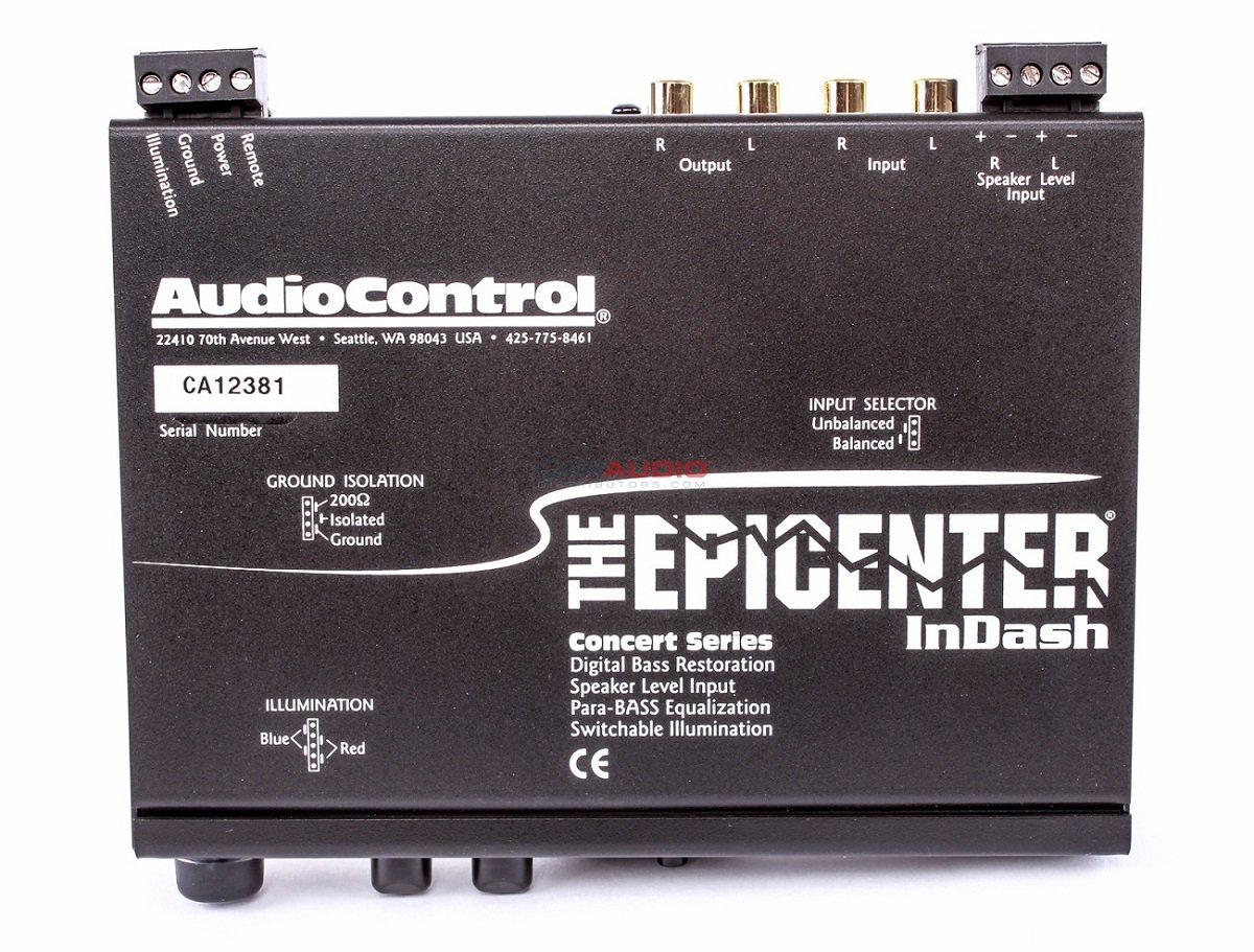 AudioControl EPICENTER-INDASH Bass Maximizer and Restoration Processor by AudioControl