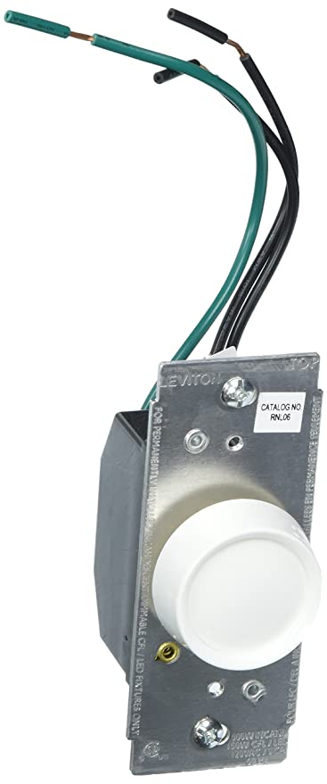 Leviton RNL06-10Z Trimatron Universal Rotary Dimmer