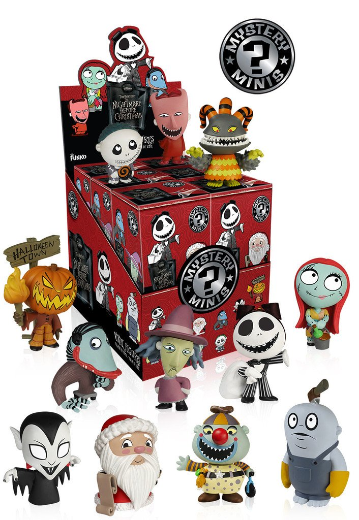 Funko Nightmare Before Christmas Series 2 Mystery Mini Display Case(Case of 12) by FunKo