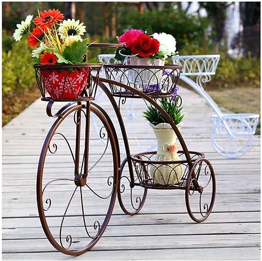 Dachengzi Soporte de Hierro Forjado para Bicicleta, decoración ...