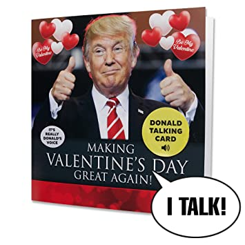 Amazon Com Talking Trump Valentines Card Surprise Someone With A