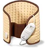 Beurer HK49 - Almohadilla electrónica cervical/lumbar/abdomen, superficie suave