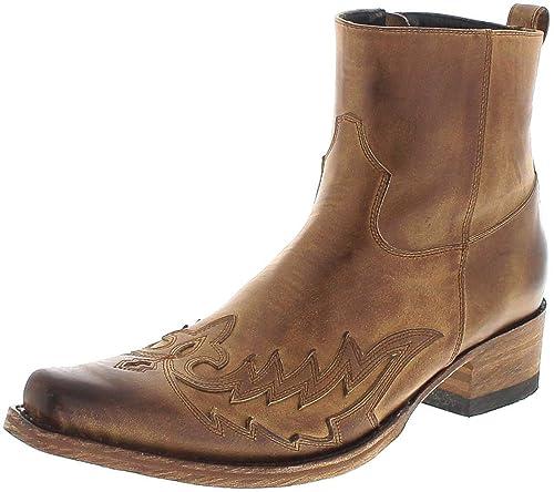 Boots Lederstiefelette Lederschuhe Herren Sendra 11783 QdCtsrhx