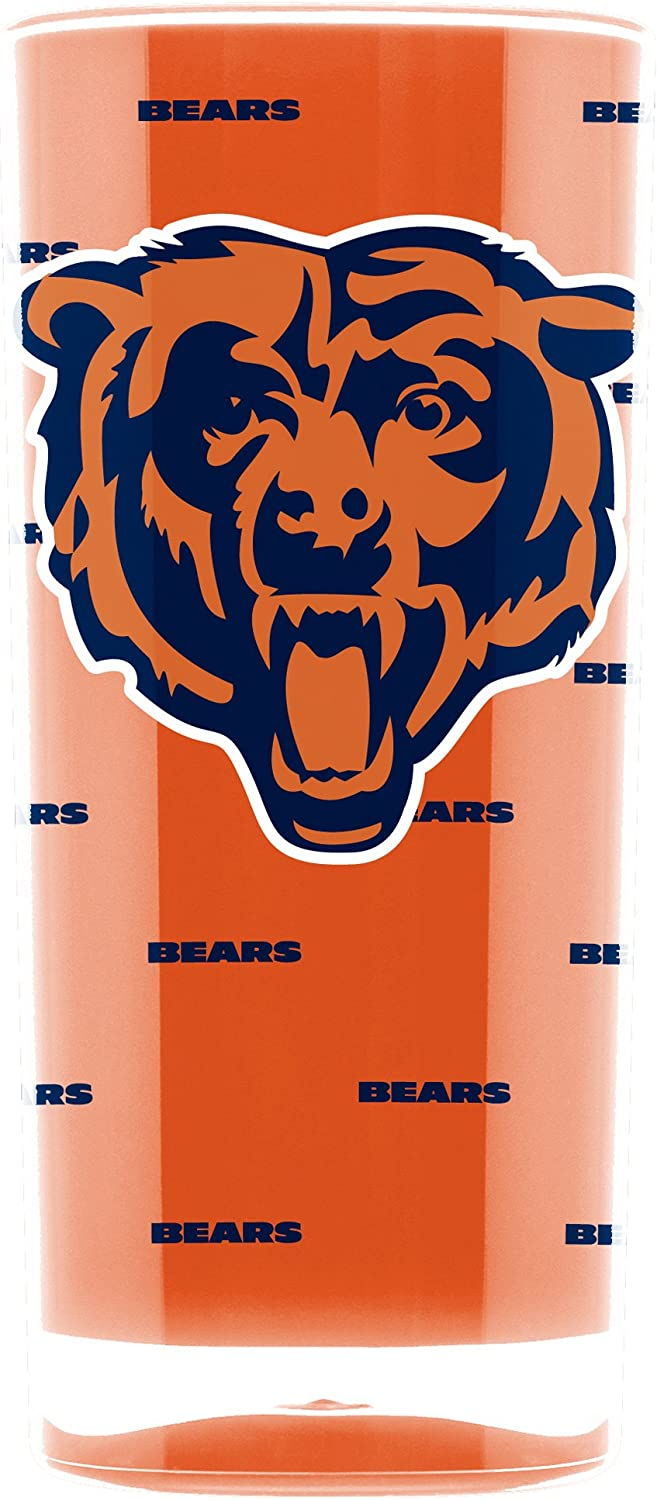 NFL Chicago Bears 16oz Insulated Acrylic Square Tumbler