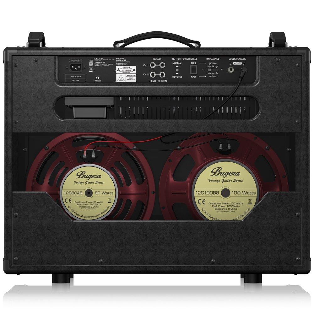 Behringer BC30 - 212 Bugera Amplificador de tubo con altavoz (2 x 30.5 cm, 12 pulgadas): Amazon.es: Instrumentos musicales