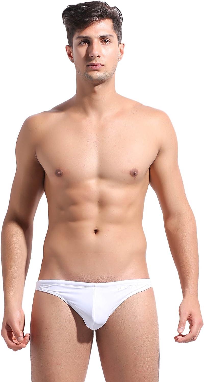 GOGOHOT Mens Fashion Swim Bikini Thongs Swimwear