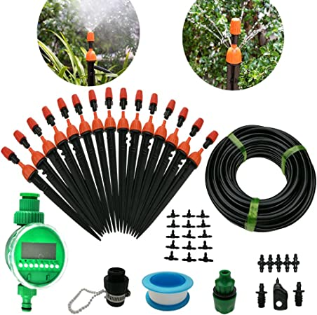 """Automatic water timer 3//4/"""" garden//greenhouse irrigation hose faucet equipment"""