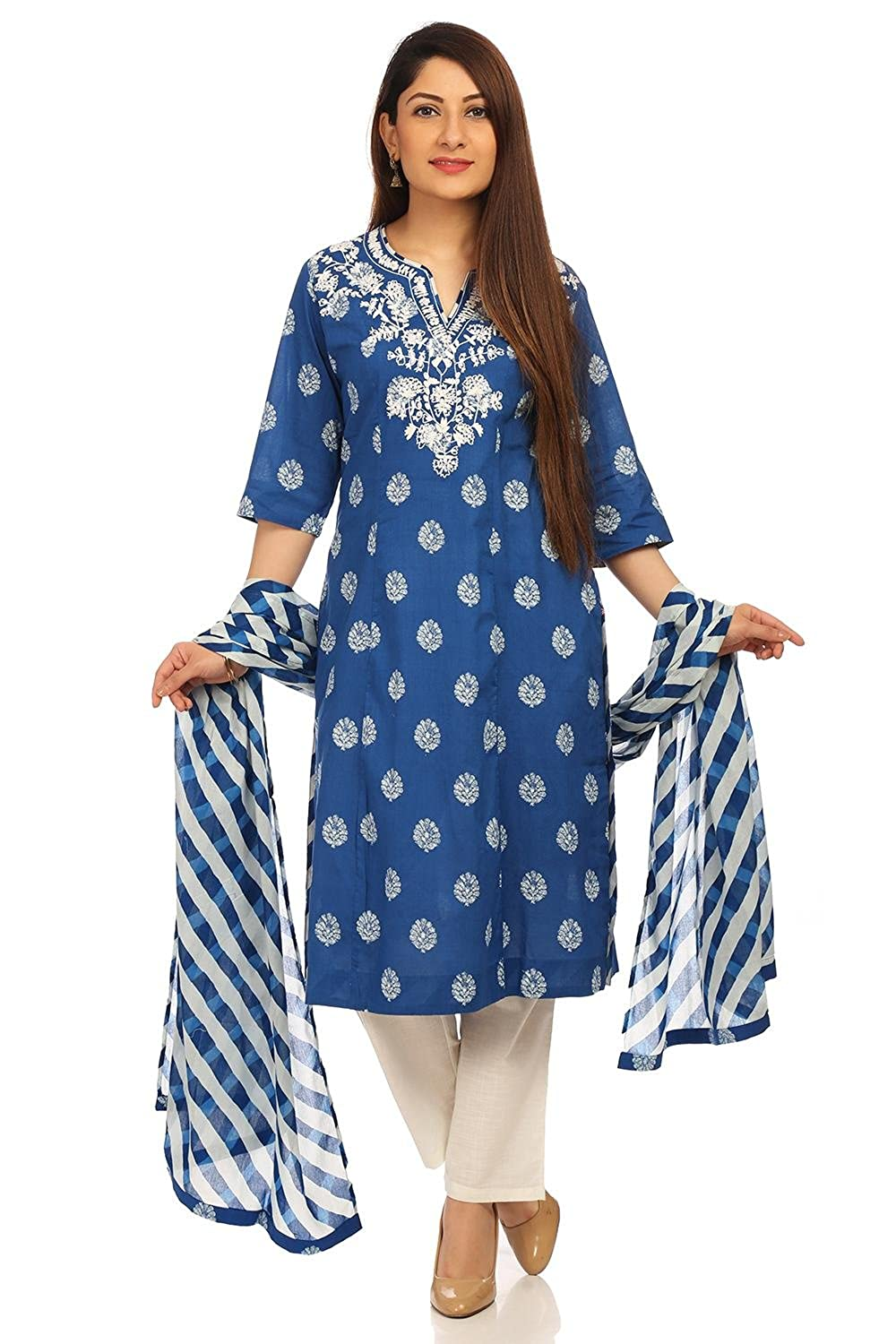 97a49c684 biba women s straight salwar suit at Best Price ₹ 2099 with many ...