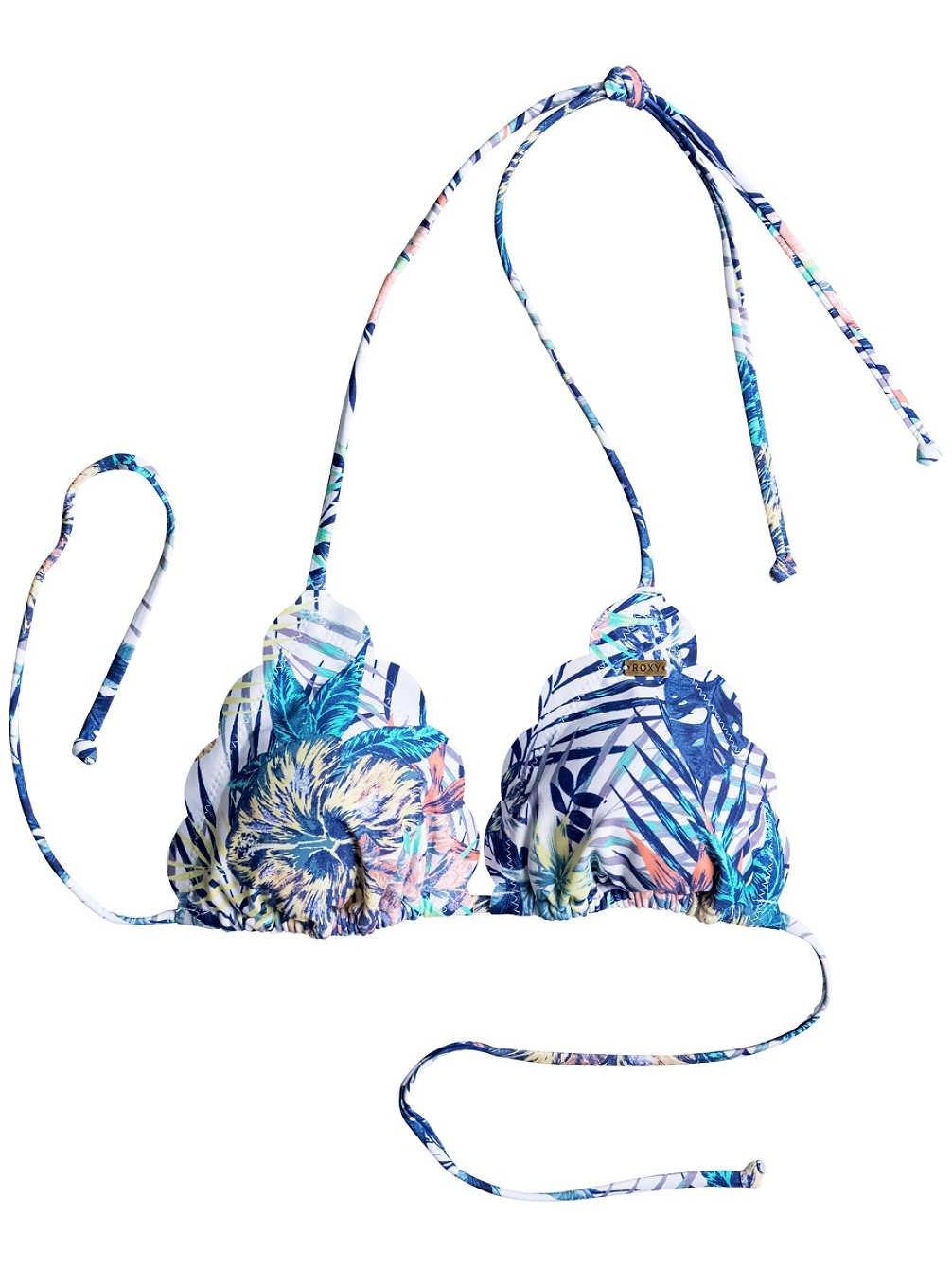 Bikini Roxy Sea Lovers Tiki Tri Corolle Bikini Top