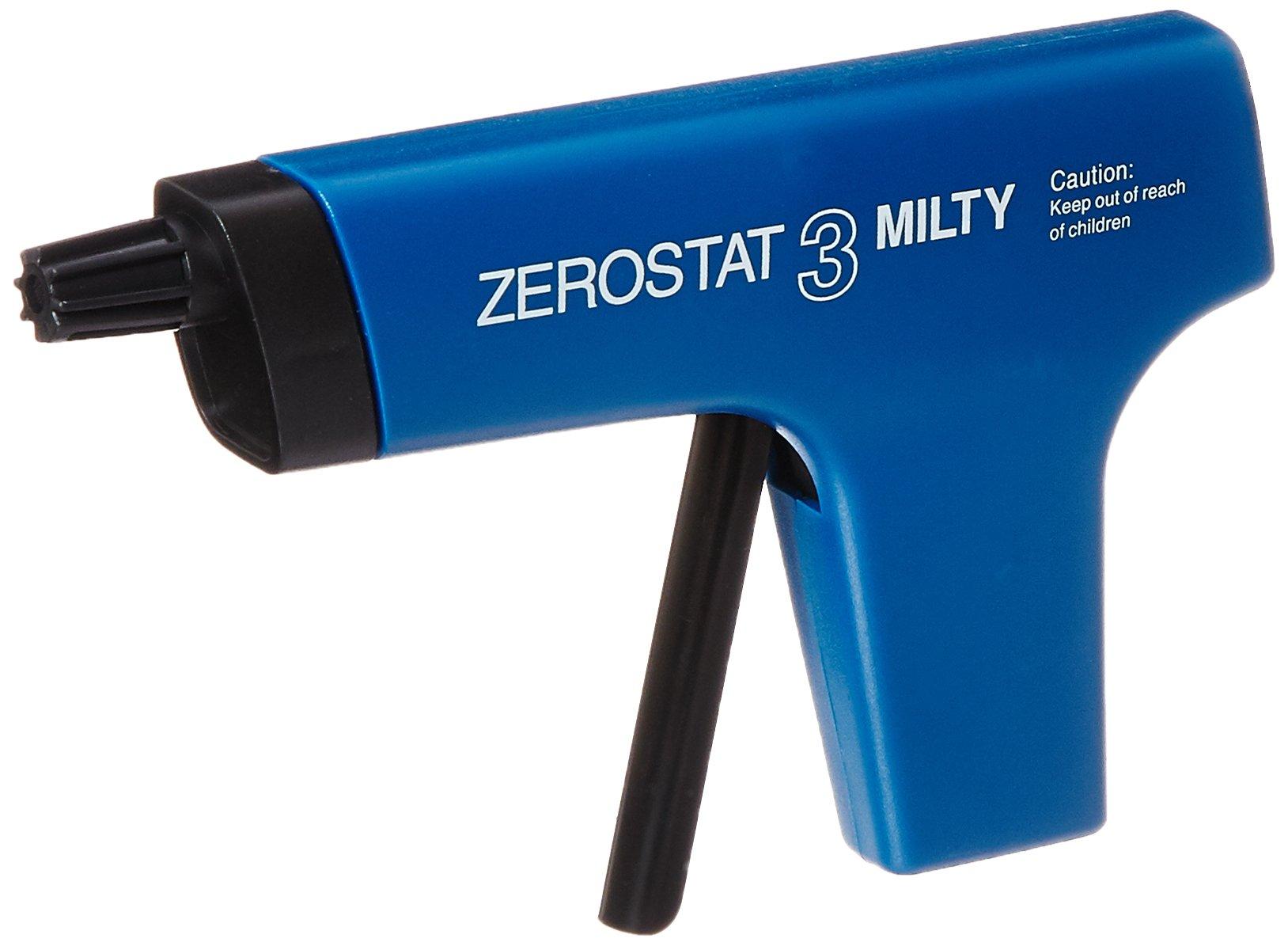 Milty 5036694022153 Zerostat 3 Anti-Static Gun, Blue