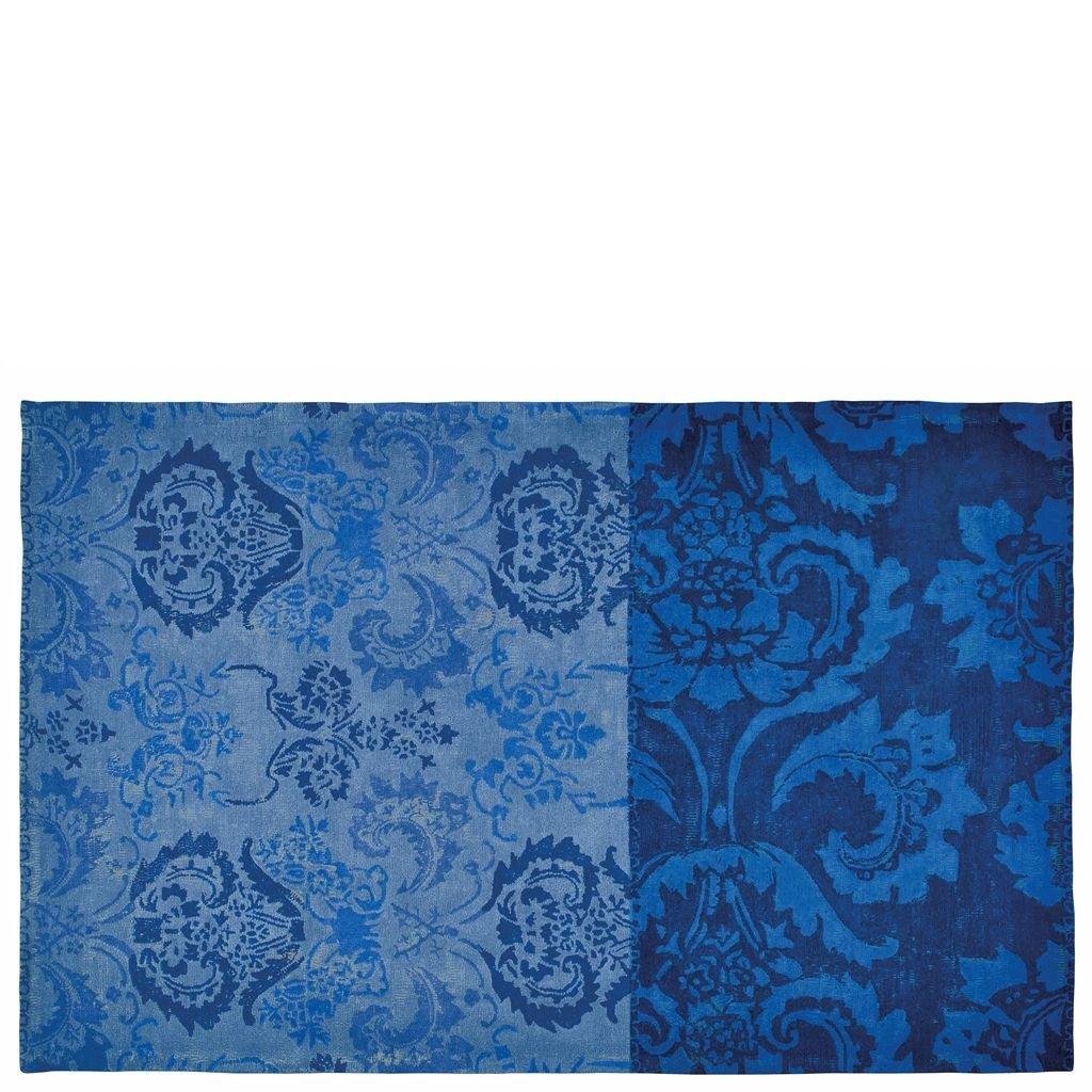 Teppich Kashgar Indigo von Designers Guild Größe 160 x 260 cm