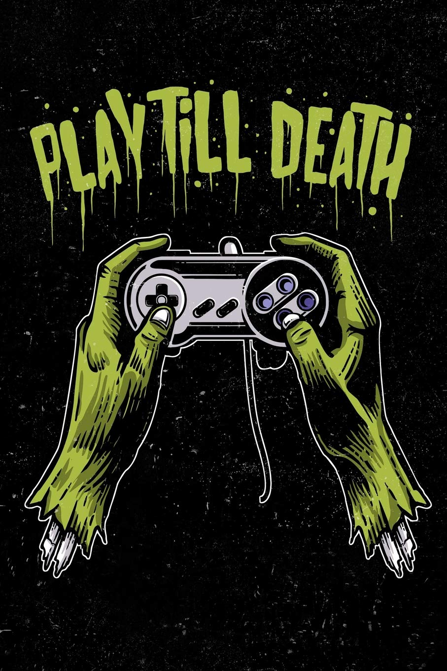 Play Till Death: Zombie Gamer Calendar 2019 Daily Weekly ...