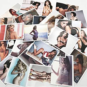 Tvoip 50Pcs/Set Sexy Beauty Girls DIY PVC Waterproof Sticker for Laptop Phone Case Skateboard Bicycle Sexy Stickers