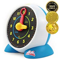 BEST LEARNING Learning Clock - Educational Learn to Tell Time Clock Toy For Kids