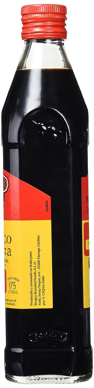 Borges Vinagre Balsámico de Modena - 500 ml , Pack de 6