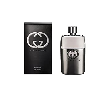 Amazoncom Gucci Guilty Pour Homme Eau De Toilette 10 Oz Beauty