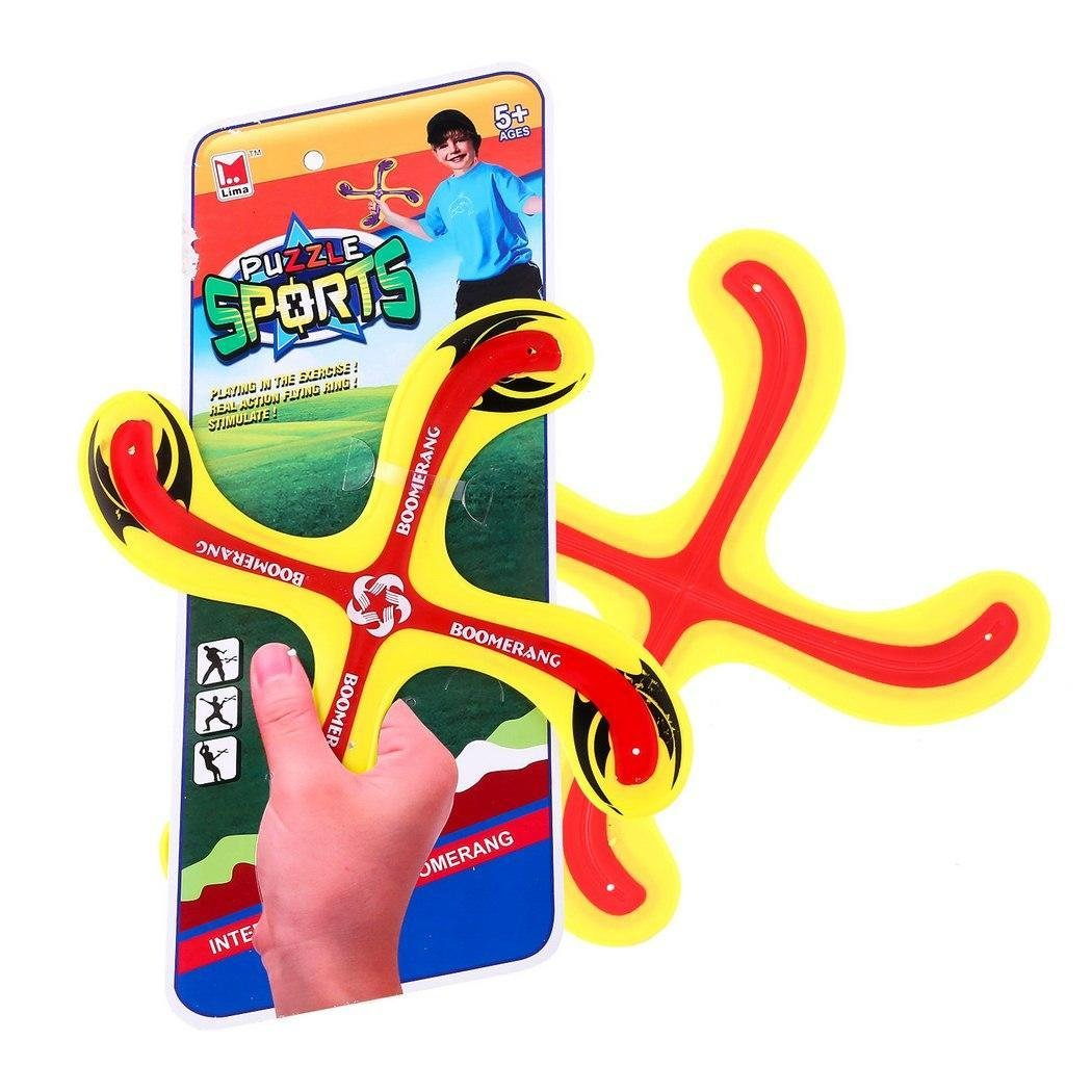 Goodfans Plastic Boomerang Outdoor Puzzle Sports Children Good Play X Shape by Goodfans