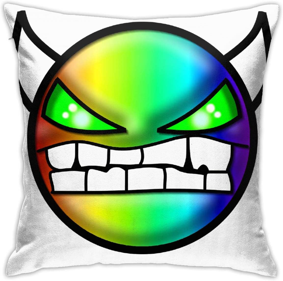 NOT Geometry Dash Ultra-Soft Pillow Case 18inch18inch Without Pillow Ultra-Soft