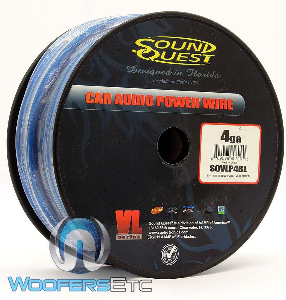 B00C2KVXIY Soundquest SQVLP4BL CCA Power Wire, Vinyl Matte Blue 71ZGMykaE2L.SL1028_