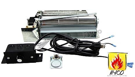 Amazon.com: Barbacoa Factory® fbk-250 Chimenea Blower Fan ...
