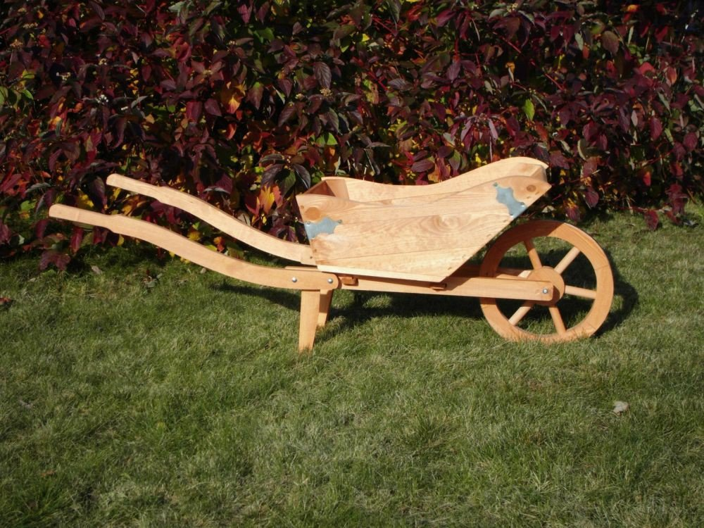 Deko Pflanzkarre Tessin imprägniertes Holz Gartendekoration