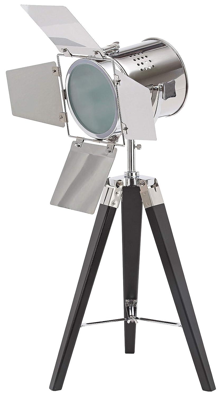 BRUBAKER Lámpara de pie - diseño Industrial - altura 65 cm ...