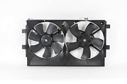 Dual Radiator and Condenser Fan Assembly - Cooling Direct Fit/For 1355A101 08-17