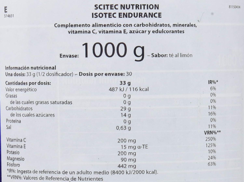 Amazon.com: Isotec - 2.20 lbs - Lemon - Scitec nutrition: Health & Personal Care