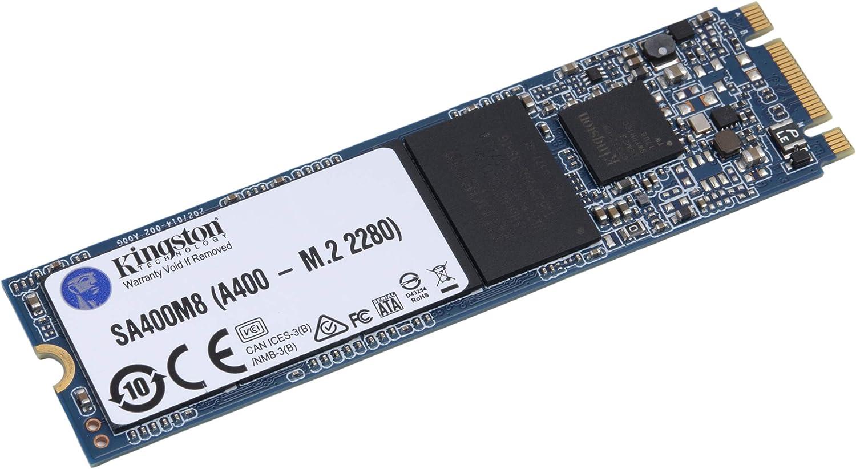 Kingston A400 SSD SA400M8/480G - Disco Duro sólido Interno M.2 2280 480GB: Amazon.es: Informática