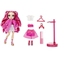 Rainbow High Stella Monroe – Fuchsia (Hot Pink) Fashion Doll with 2 Doll Outfits to Mix & Match and Doll Accessories…