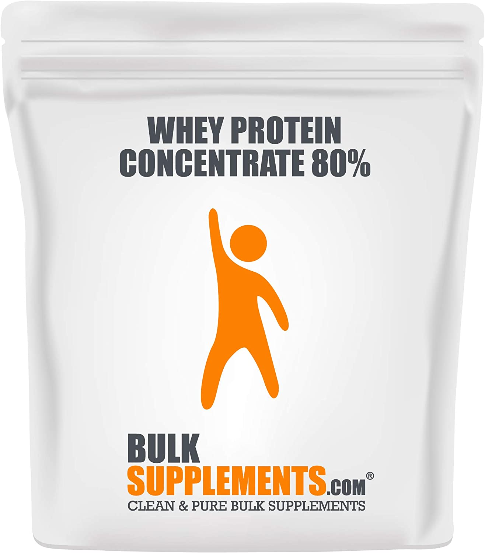 BulkSupplements.com Natural Protein Powder - Protein Powder for Weight Gain - Flavorless Protein Powder (1 Kilogram - 2.2 lbs - 32 Servings)