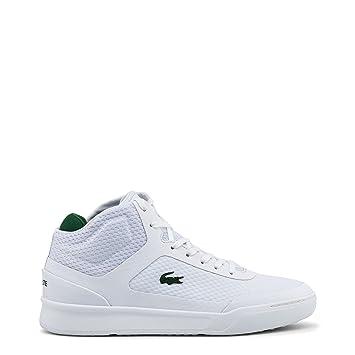 Homme Lacoste 40 Blanc explorateur 5 Sneakers 734cam0023 qqUwt1Hzr