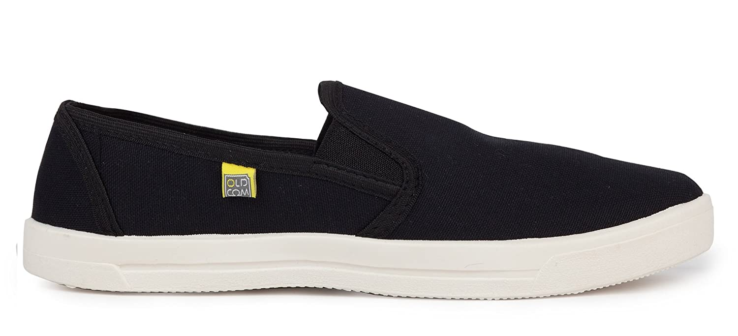 Cotton Lightweight Casual Black OldCom Slip-on Cooper Classic Shoes Natural