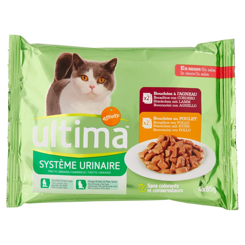 ultima Comida Húmeda para Gatos Tracto Urinario Multipack - 340 gr ...